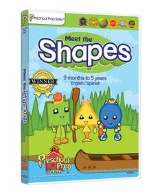 Look at this #zulilyfind! Meet the Shapes DVD by Preschool Prep #zulilyfinds
