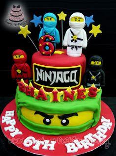 Ninjago Fondant Cake