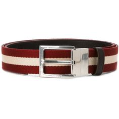 Bally striped belt (675 MYR) via Polyvore featuring men s fashion, men s  accessories, men s belts, red, bally mens belt and mens red belt 1fc8084c629