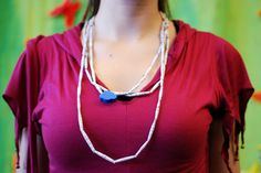 Another paper necklace at IMWe 2014