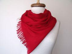 Red scarves <3