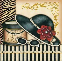 Pictures and backgrounds for creativity . Discussion on LiveInternet - Russian Online Diaries Service Vintage Diy, Decoupage Vintage, Mode Vintage, Vintage Photos, Vintage Ladies, Fashion Art, Vintage Fashion, Art Deco Cards, Shoe Art