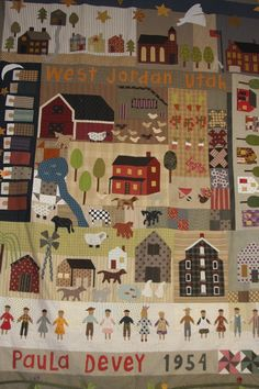 Jan Patek inspired quilt. @Paula McKinlay this is amazing.  seriously