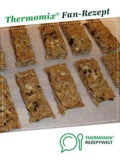 Granola bars / energy bars from knuffelbaer. A Thermomix ® recipe from the Ka . - Granola bars / energy bars from knuffelbaer. A Thermomix ® recipe from the category baking sweet w - Good Protein Snacks, Protein Desserts, Easy Desserts, Lemon Dessert Recipes, Lemon Recipes, Snack Recipes, Dessert Simple, Granola Barre, Muesli Bars