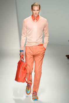 Head to Toe -- want those shoes (Salvatore Ferragamo Spring 2013)