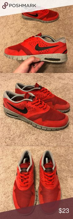 check out 48cbf bbb61 Nike Eric Koston 2 Max Light Crimson Red Size 9.5 Nike Eric Koston 2 Air Max