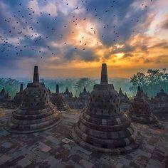 Borobudur Temple, Magelang Jawa Tengah, Java, Indonesia