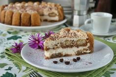 Torta fredda tiramisù No Bake Desserts, Dessert Freddo, Cheesecake, Allrecipes, Biscotti, Goodies, Cooking Recipes, Pie, Sweets