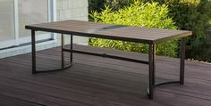 Cascade Outdoor Dining Table at Morris