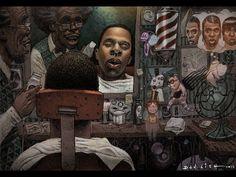 Jay Z by Dan Lish