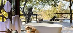 Singita Boulders Lodge within the Singita Game Reserve, bordering the Kruger National Park, is an oasis of refinement in the shimmering midday Hotel Design Architecture, Park Lodge, Lodge Style, Best Bath, African Safari, House Layouts, Bouldering, Lodges, Luxury