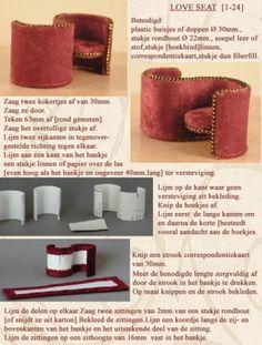 minidesign.punt.nl  A Love Seat in 1-24 scale in Dutch