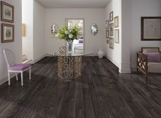 Embostic luxury vinyl tile flooring in Smoke Gray color. Embostic comes in and construction. Luxury Vinyl Tile Flooring, Vinyl Plank Flooring, Vinyl Tiles, Luxury Vinyl Plank, Grey Flooring, Flooring Ideas, Floors, Dublin, Mohawk Industries