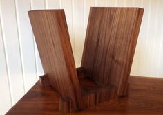 Vinyl Record Storage Display Black Walnut by ShadyMapleWoodworks