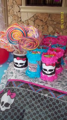 Monster High Birthday Party Ideas | Photo 5 of 34 | Catch My Party
