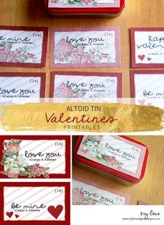 Altoid Tins Printable Valentines