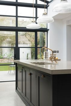 One of our recent projects, photos of the rest of the house to come! The beautiful Balham Shaker kitchen by deVOL