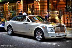 Rolls Royce Phantom Drophead from Dubai spotted in London