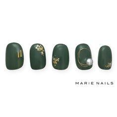 #マリーネイルズ #marienails #ネイルデザイン #かわいい #ネイル #kawaii #kyoto #ジェルネイル#trend #nail #toocute #pretty #nails #ファッション #naildesign #awsome #beautiful #nailart #tokyo #fashion #ootd #nailist #ネイリスト #ショートネイル #gelnails #instanails #newnail #cool #green #gold