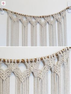DIY Macrame Hanging | Green Wedding Shoes Wedding Blog | Wedding Trends for Stylish + Creative Brides