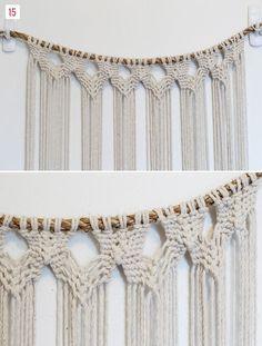 DIY Macrame Hanging   Green Wedding Shoes Wedding Blog   Wedding Trends for Stylish + Creative Brides