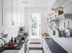 Homes - Remodelista: Galley kitchen
