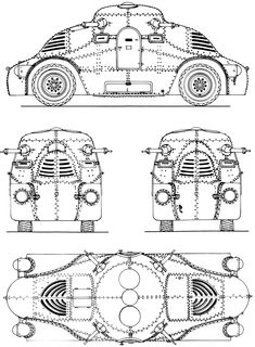 808 best vehicles images in 2019 rolling carts car sketch autos 1950 Dodge Coupe skoda pa ii turtle blueprint