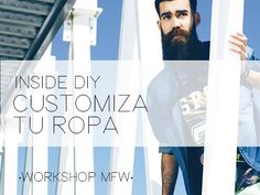 "Del 13 al 19 de abril dará comienzo Murcia Fashion Week, apúntate a nuestro taller ""Inside DIY"" => http://www.chequealo.es/customiza-tu-ropa-con-inside-en-murcia-fashion-week-613"