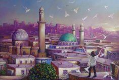 Mehendi, Taj Mahal, Ali, Artist, Artworks, Painting, Sweet, Candy, Artists