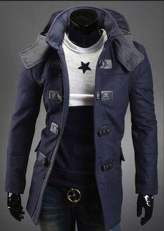 Men's Coats, Jackets, Wool cultivate hoodies #Fashion