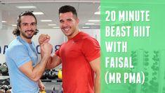 20 Minute Fat Burner With Faisal (Mr PMA) | The Body Coach
