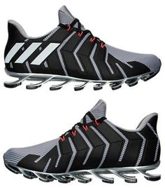 wholesale dealer b7e04 0aba7 ADIDAS SPRINGBLADE PRO MEN s RUNNING M MESH GREY - BLACK AUTHENTIC NEW IN  BOX SZ. Raoul · sneakers
