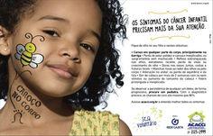 Hoje no Brasil é o Dia Nacional de Combate ao Câncer Infantil! Entre os principais objetivos que culminaram na criação dessa data estão o estímulo a ações educativas e preventivas associadas à doença. O Câncer Infantil, se diagnosticado cedo possuí alta porcentagem de cura. Na ilustração, uma campanha da ACACCI repleta de informações! Vamos todos cuidar com atenção e amor dos nossos pequenos!