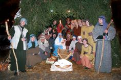 Visit the Living Nativity Scene in the Kaptol district  Photo Zagreb Tourist Board