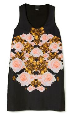 Flower Bomb Easy Mini Tank Dress by Josh Goot for Preorder on Moda Operandi