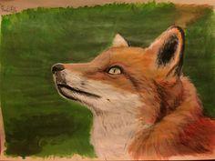 #fox #painting #acrylics #real #art