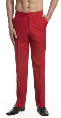 CONCITOR Men's Dress Pants Trousers Flat Front Slacks RED 28 Concitor http://www.amazon.com/dp/B006M635RG/ref=cm_sw_r_pi_dp_tS4.wb1476ZX4
