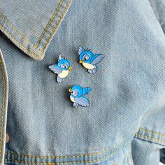 Home & Garden Animal Beautiful Bird Unicorn Metal Brooch Button Pins Denim Jacket Pin Jewelry Decoration Badge For Clothes Lapel Pins Large Assortment