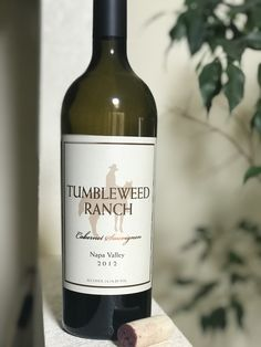 TUMBLWEED RANCH Cabernet Sauvignon Coombsville Napa Valley Wine Time, Cabernet Sauvignon, Napa Valley, Wine Tasting, Earthy, Wines, Ranch, Alcohol, Bottle