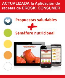 Actualización aplicación de recetas de EROSKI CONSUMER
