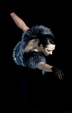 The artist...Johnny Weir
