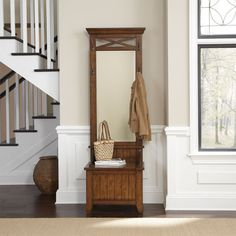 Create the perfect entryway with this handsome hall tree. Homemakers Furniture, Liberty Furniture, Design Styles, Quality Furniture, Wood Species, Homemaking, Home Improvement, Entryway, Handsome