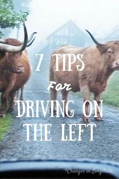 Seven tips for driving on the left|how to drive on the left|car rental in UK