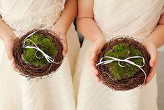 55 Unique Ring Pillow Alternatives | HappyWedd.com
