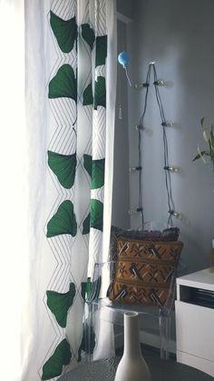 Gorgeous curtains made with Ikea fabric hand sewn by my mom! Ikea Fabric, Open Plan Living, Hand Sewn, Interior Architecture, Dining Room, Curtains, Interiors, How To Plan, Mom