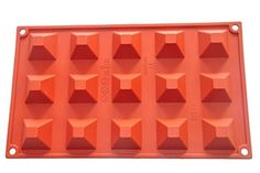 FOURC Baking Molds Cake Pans Silicone Bakeware Color Purplish Red * Find out more about the great product at the image link.