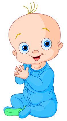 "Photo from album ""Малыши"" on Yandex. Cute Panda Cartoon, Cartoon Pics, Cute Baby Boy, Cute Babies, Cute Baby Drawings, Big Head Baby, Dibujos Baby Shower, Baby Motiv, Moldes Para Baby Shower"