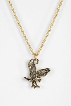 Brooklyn Charm X Urban Renewal Eagle Necklace