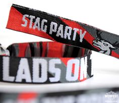 Stag Do Wristbands - Lads we didn't forget you. With the success of our range of Hen Party Wristbands the boys have been wondering when the Stag Do Wristbands were going to arrive! Stag And Hen, Festival Wedding, Stag Do Ideas, Wedding Stationery, Party Ideas, Wedding Ideas, Ideas Party, Wedding Invitations