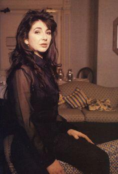 Kate Bush, Q Magazine, 1993.    Photo: John Stoddart